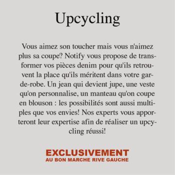 Upcyling bis